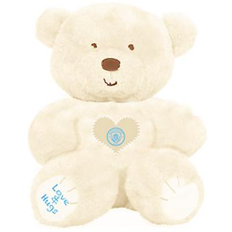Manchester City FC Childrens/Kids Love And Hugs Bear