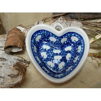 Herz, Miniatur, Tradition 4, Bunzlauer Keramik - BSN 30072