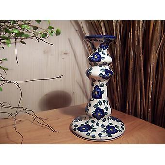 Castiçais, altura 18cm, 42 exclusivo, boleslawiec aardewerk - BSN 2040