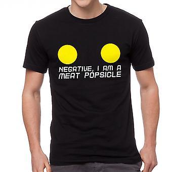 Le cinquième élément viande Popsicle noir T-shirt homme