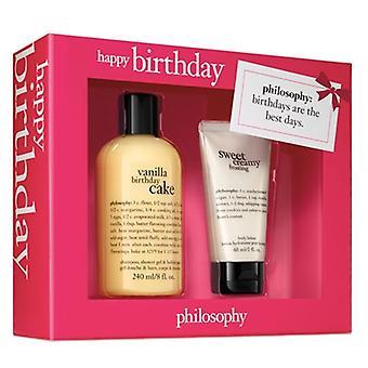 Filosofie Happy Birthday 2 delige Set