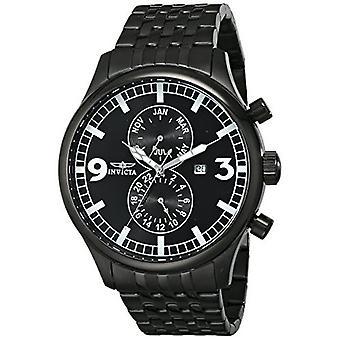 Invicta Spezialität 0367 Edelstahl Chronograph Uhr
