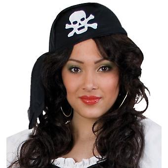 כובעי הגולגולת של הפיראט בנדנה