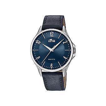 לוטוס-שעונים-גברים-18518-3-רצועת עור קלאסית-קלאסי