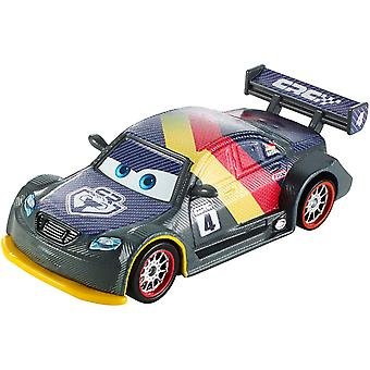 Disney Mattel DHM77 Pixar cars - carbon racers - cast model Max Schnell
