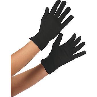Mănuși negru accesoriu mănușă de carnaval