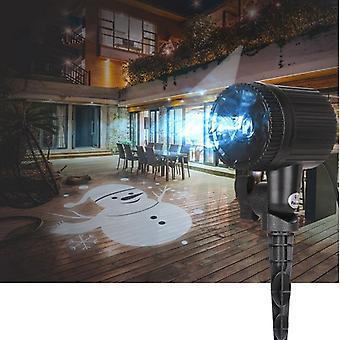 LED מנורת תאורת קיר זרקור גאדג ' ט חסין למים הביתה בחוץ חג המולד מקורה חדש