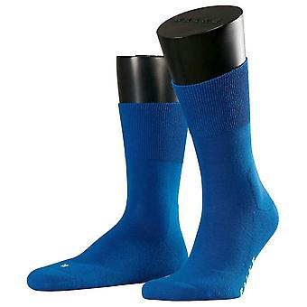 Falke Run Midcalf Socks - Sapphire Blue