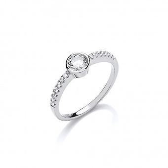 Cavendish Franse Sweet Sparkly Solitaire Ring