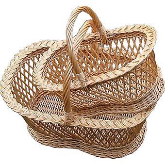 Conjunto de 2 cestas de compras de Shrewsbury