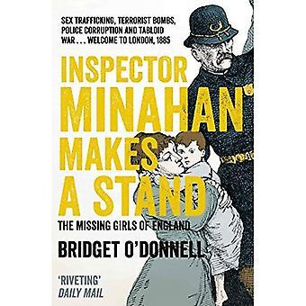 Inspecteur Minahan fait un Stand: jeunes filles disparues d'Angleterre