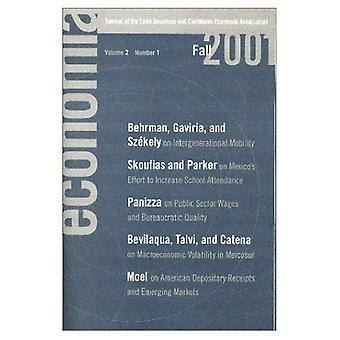 Economia: Falla 2001: tidning den latinamerikanska och karibiska ekonomisk föreningen (Economo en)