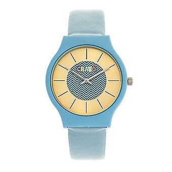Crayo Trinity Unisex horloge-blauw