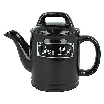 Lesser & Pavey Black Classic Tea Pot LP29325