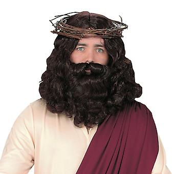 Jesus Peruke mit Bart