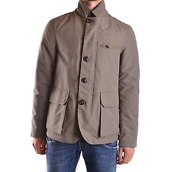 At.p.co Ezbc043015 Men's Beige Polyester Bovenkleding Jack