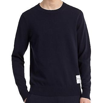Calvin Klein Jeans Mens Slim Cotton Blend Sweater