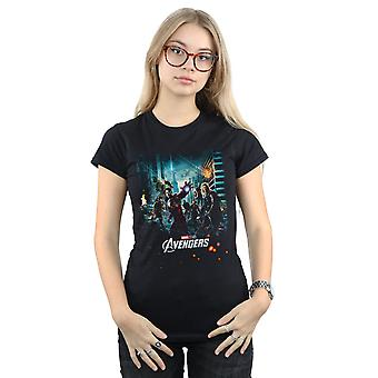 Marvel Studios Women's The Avengers Poster T-Shirt