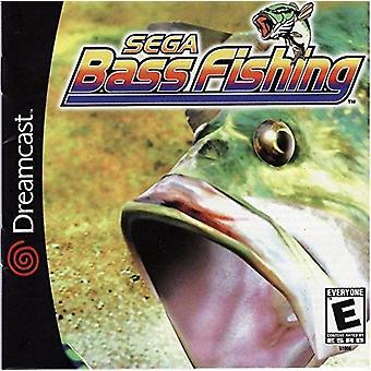 SEGA Bass Fishing Dreamcast Nintendo Wii-peli
