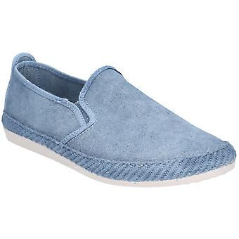 Flossy heren Manso slip op canvas casual zomer Pump Shoes