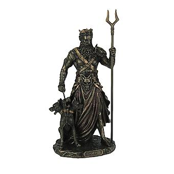 Greek God of the Underworld Hades and Cerberus Statue