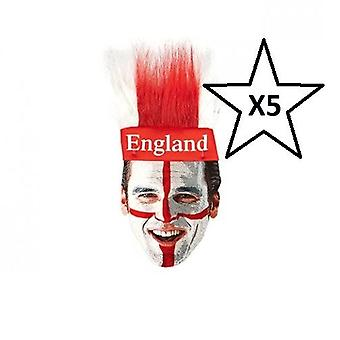 St George England Stirnband World Cup Fußball X5