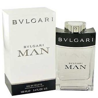 Bvlgari Man By Bvlgari Eau De Toilette Spray 3.4 Oz (men) V728-481217