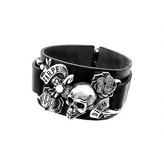 Alchemy Gothic Carpe Diem Bracelet