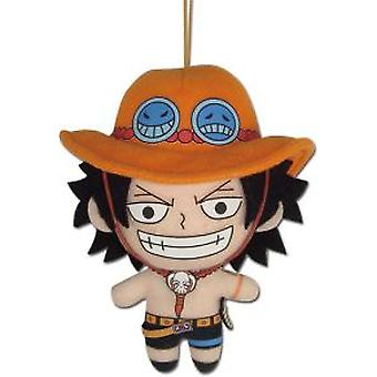 Plush - One Piece - Ace 5'' Soft Doll Toys ge52293