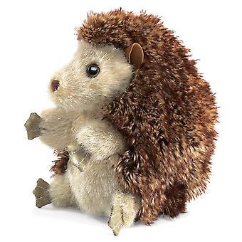 Hånd marionet-Folkmanis-Hedgehog nye dyr bløde dukke plys legetøj 2192