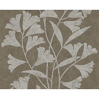 A.S. crearea floare model floral Leaf motiv sclipici tapet texturat 953672