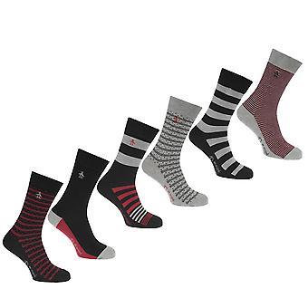 Pinguin Herren 6 Pack Socken 7-11