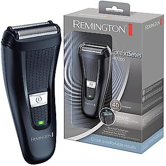 Remington PF7200 Mens Travel Comfort Series Dual Flex Foil Cordless Shaver Trimmer