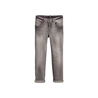 BOSS Kidswear ljusgrå slim fit Jean