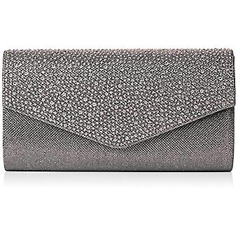 SwankySwans Montary bag clutch trass clutch Grey (Grey)) Single size