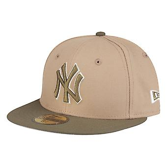 New Era 59Fifty KIDS Cap - New York Yankees camel oliv