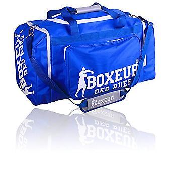 Boxeur Des Rues Fight Activewear Gym Bag with Adjustable Shoulder - Blue - One Size