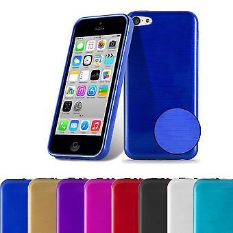 カドラボケースアップルiPhone 5Cケースカバー - フレキシブルTPUシリコーン電話ケース - シリコーンケース保護ケース超スリムソフトバックカバーケースバンパー