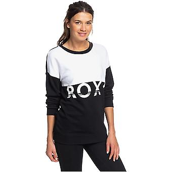 Roxy Rendez-vous mit U Sweatshirt in True Black