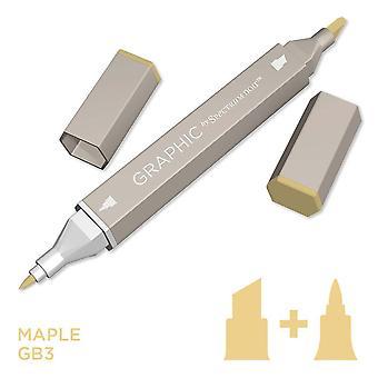 Graphic by Spectrum Noir Single Pens - Maple