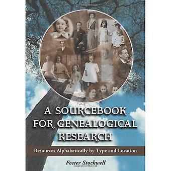 Um Sourcebook para a pesquisa genealógica: recursos em ordem alfabética por tipo e localização
