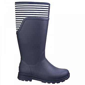 Muck Boots Cambridge tall Marinblå/vit