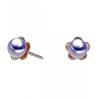 Luna-Pearls Pearl StudS Freshwater Pearls 4.5-5 mm 750 Yellow Gold 3001255