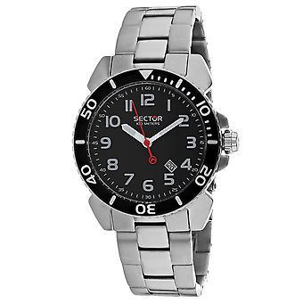Sector Men's Centurion Black Dial Watch - 3253103025