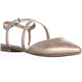 Indigo Rd. Womens Genetic2 Pointed Toe Ankle Strap Slide Flats