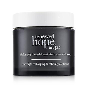 Philosophy Renewed Hope In A Jar Overnight Recharging & Refining Moisturizer - 60ml/2oz