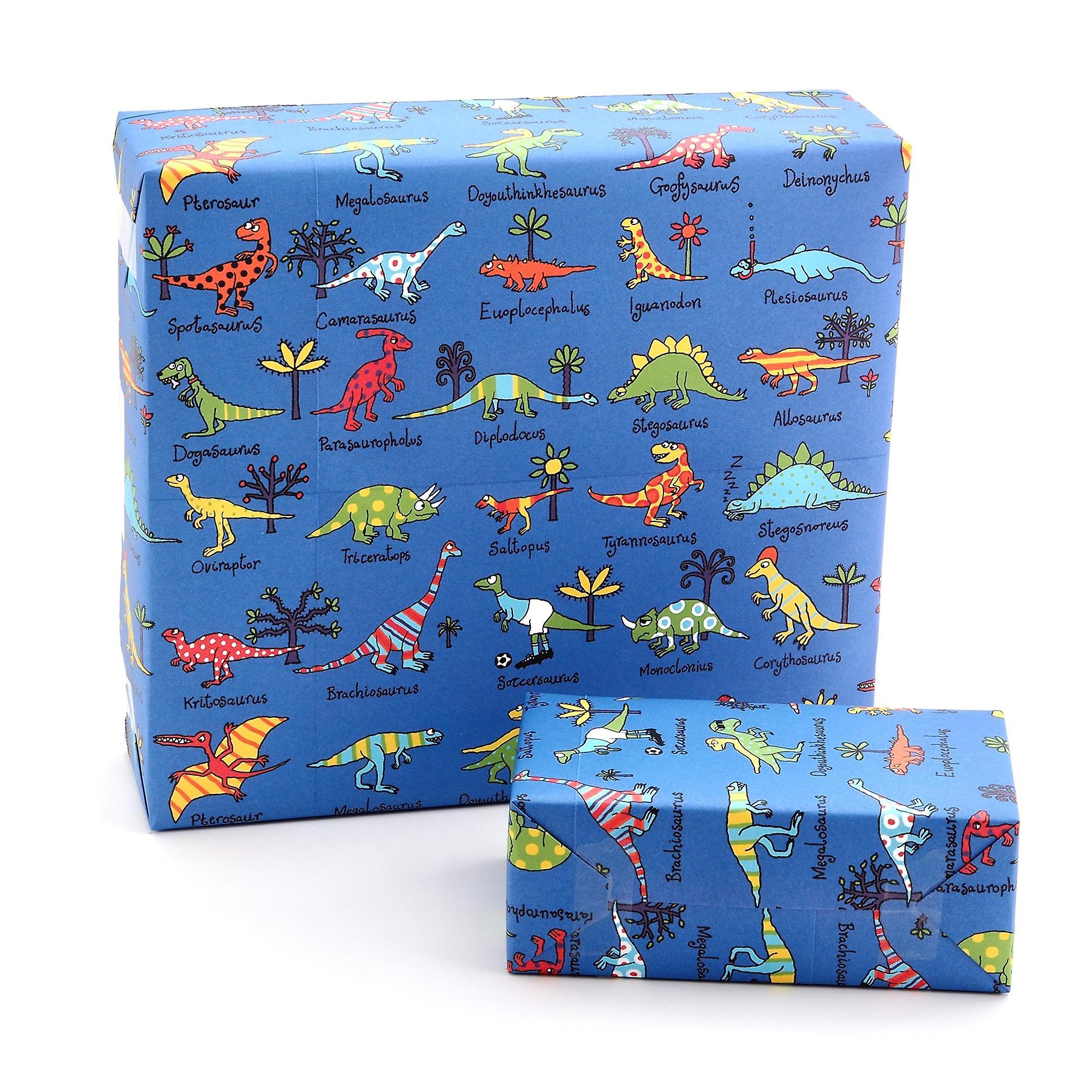 Tyrrell Katz Dinosaurs Wrapping Paper