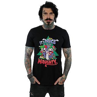 DC Comics miehet ' s Super ystävät se ' s kiva kohteeseen olla tuhma T-paita