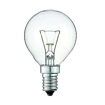 5X Light Bulb E14S 40W Clear Fancy Round Seslamp