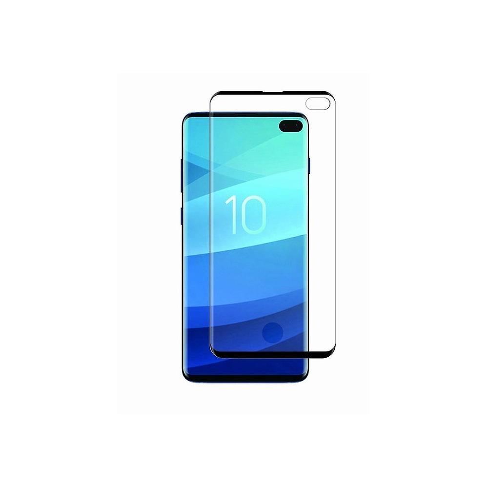 Film Pour Galaxy S10 Plus Protection écran Verre Trempé Avec Applicateur - Muvit